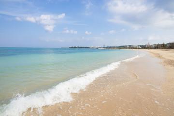 沖縄のビーチ・仲泊海岸