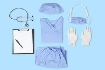 Surgeon clothes and accessories