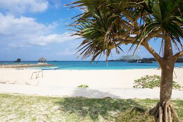 沖縄のビーチ・ナビービーチ