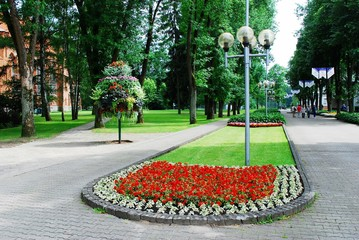 Druskininkai is a spa town in southern Lithuania