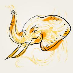 Elephant art