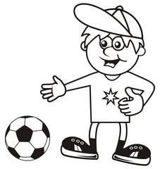 sportsman,coloring book