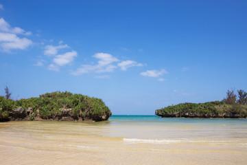 沖縄のビーチ・宇加地近隣公園ビーチ