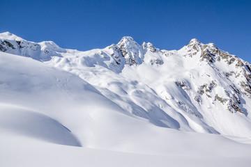 Winterlandschaft in den Alpen