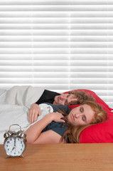 Maried Couple in Bed