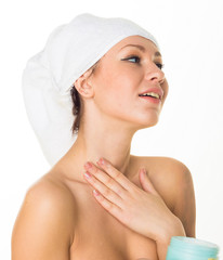 Sexy Woman Nudity Closeup