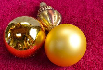 Boules dorées