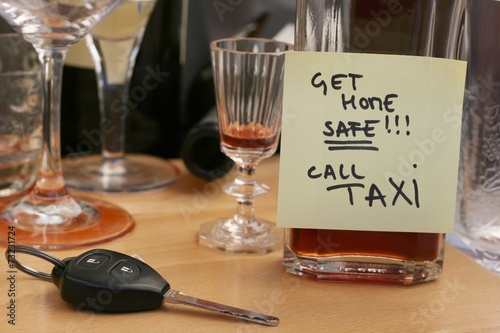 don't drink and drive concept - 73231724