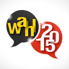 bulles rayées : Wahl 2015  v2
