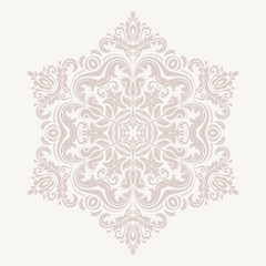 Orient  ornamental round lace