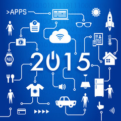 2015 new year - internet of things - 1