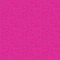 Pink tileable seamless background with stylized flowers