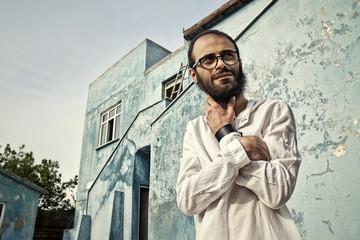 Portrait of Syrian Man