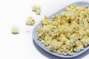 Popcorn at the plate