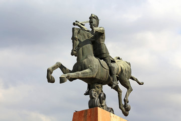Monument to Vardan Mamikonian in Yerevan