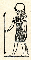 Ra, ancient Egyptian solar deity