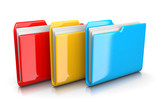 Three Document Folders