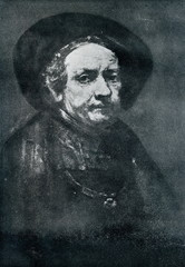 Rembrant's self portrait