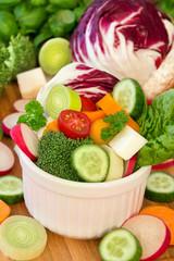 Gemüse - Salat