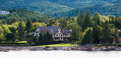 Tudor Bed and Breakfast on Coast of Maine