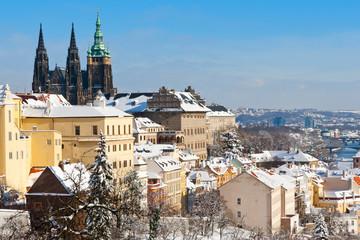 Prague castle and Lesser town, Prague (UNESCO), Czech republic