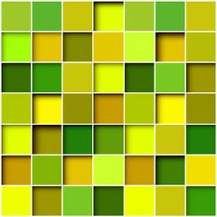 Abstract background square mosaic
