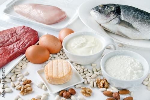 Nahrungsmittel - Eiweiß - 73236170