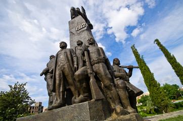 Monument of Independence in Vlore, Albania