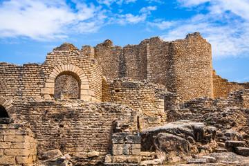 Ancient Roman city in Tunisia, Dougga