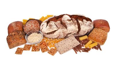 Brot - Nudeln - Haferflocken