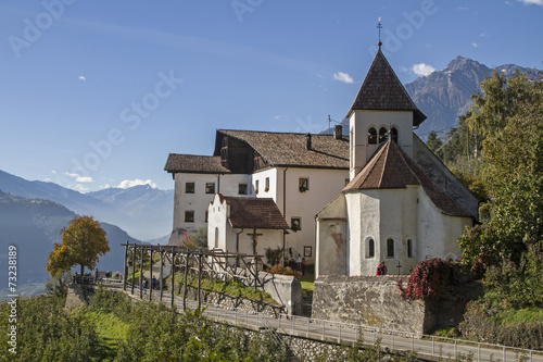 canvas print picture St.Peter im Vinschgau