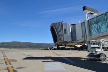 airbridge on airport