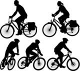 bike - vector silhouette