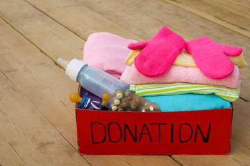 Donation box  for children