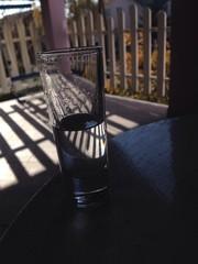 schnapps on terrace