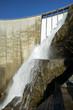 The dam of Verzasca on the italian part of Swtzerland