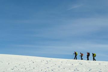 Ruta en los Pirineos
