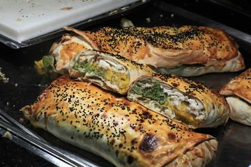 Turkish baked rolls