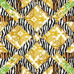 Seamless patterned pattern - texture