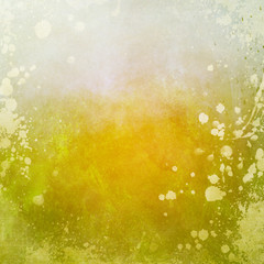 grunge green background with splatters