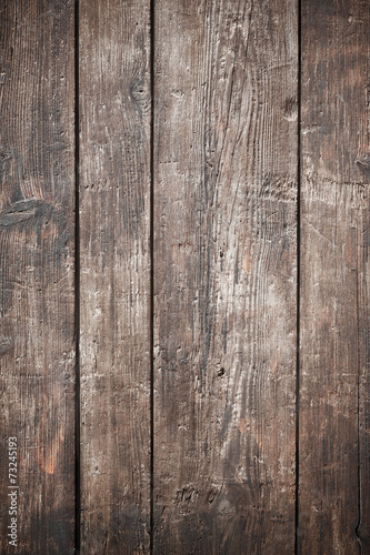 Fotobehang Hout Old wooden planks surface background
