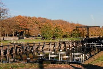 picturesque Sluis Zwolle, Spoolde Katerveer in autumn