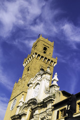 Volterra, Tuscany. Color image