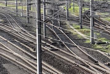 Bahnverkehr Geleise