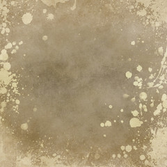 old paper background with splatters, grunge background