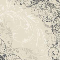 Background floral design