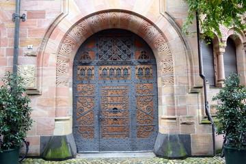 Eingang Ordinariat Freiburg