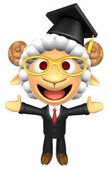 3D Doctor Sheep Mascot has been welcomed with both hands. 3D Ani