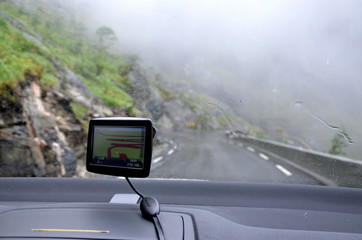 Gps navigation in the mountains