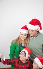 Holidays, presents, christmas, x-mas, birthday concept - Happy f